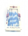Blue and White Dripless Hanukkah Candles