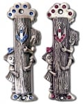 Peek a Boo Kid's Mezuzah Case