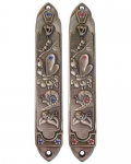 Butterfly and Snail Children's Mezuzah