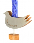 Dove Havdalah Candle Holder
