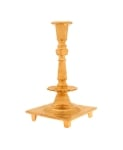 Brass 19th Century Polish Candlestick