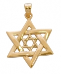 Two Star of David Pendant