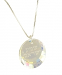 Sterling Silver Genuine Swarovski Shema Necklace