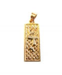 Gold Filled Mezuzah Pendant