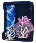Sterling Silver Flower Havdalah Set