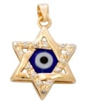 Star of David Eye Pendant