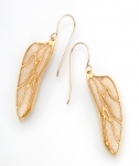 Small Dragonfly Wing Earrings
