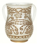 Gold Oriental design Wash Cup
