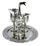 Nickel Jerusalem Havdalah Set