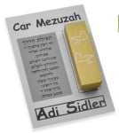 Adi Sidler Peace Dove Car Mezuzah