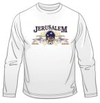 Jerusalem   Israel Long Sleeved T Shirt