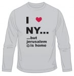 I Love N.Y. But ...  Long Sleeved T Shirt