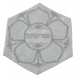 Pesach Matzah Cover with Mesh Flower design