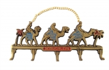 Wall Hanging Jerusalem Key Holder with camels