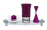 Havdallah Set  By Agayof   Purple
