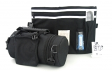 Black Tefillin Carrier with Tallit bag   New