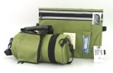 Olive Tefillin Carrier with Tallit bag   New