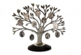 Twelve Photo Pewter Family Tree