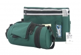 Dark Green Tefillin Carrier with Tallit bag   New