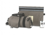 Gray Tefillin Carrier with Tallit bag