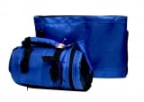 Dark & Light Blue Thermal Tefillin Carrier with Tallit bag