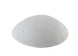 C HIGH QUALITY WHITE KIPPAH