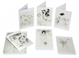 8 Greeting Cards   Marc Chagall Art Prints