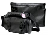 Black Thermal Tefillin Carrier with Tallit bag