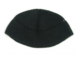 Black Frik Kippah with Holes