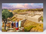Temple in Jerusalem Poster
