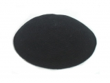 Black Premium DMC knitted Kippah