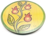 Lazy Susan Climbing Pomegranate by Kakadu Art