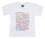 T Shirt   Names of Jerusalem in English White