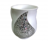 Shattered Glass design Wash Cup