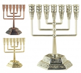 Square Branch Jerusalem Temple Menorah