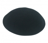 Black DMC knitted Kippah