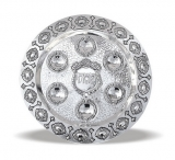 Round Diamonds Seder Plate