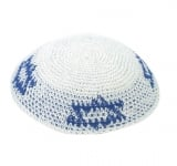 Flag of Israel Knitted Kippah
