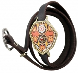 Star of David Kabbalah Leather Multiwrap Bracelet by Iris