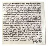 Kosher Mezuzah Scroll Sefardi Version   Mehudar