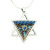 Star of David Necklace by Iris