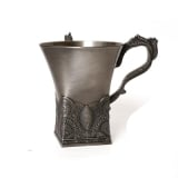 Pewter Filigree Wash Cup