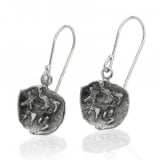 Pure for God Silver Earrings