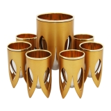 Caesarea Arts Lotus Collection   Kiddush Cup Set