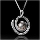 Woman of Valor Jewish Necklace