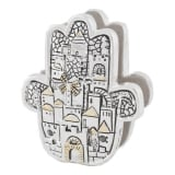 Hamsa Jerusalem Napkin Holder