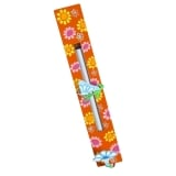 Orange Flower Mezuzah Case by Tzuki