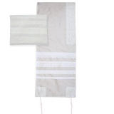 Emanuel Embroidered Light Lace Tallit