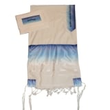 Gabrieli Wool Tallit Blue And White