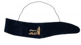 Gold Jerusalem Blue Velvet Yemenite Shofar Pouch